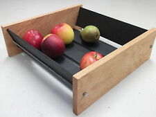 Extra Large Oak Slate Design Fruit Bowl - Modern Contemporary Style