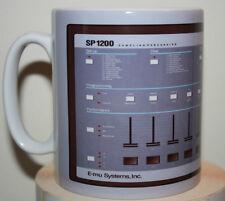Custom E-mu Systems SP1200 sampling sampler novelty mug cup producers studio