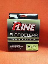 P-LINE Floroclear Fluorocarbon Coated Fishing Line 15lb (300yd) #FCCFMG-15 M.Grn