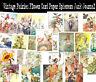 50 Vintage Fairies Flower Paper Ephemera Scrapbook Embellishments