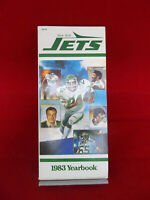 Vintage New York Jets Official 1983 Yearbook With Jet Stream Summer 1983 Vol. 20