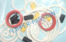 Kit caoutchoucs flipper SECRET SERVICE 1988  DATA EAST elastiques blancs pinball