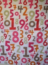 digit math custom lucky Number shower curtain