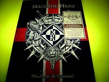 MACHINE HEAD - BLOODSTONE & DIAMONDS | LTD 48 PAGE MEDIABOOK EDITION | NEU & OVP