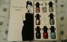OPI breakfast at tiffanys 8pc full size  nail polish set Inc nail envy 15ml