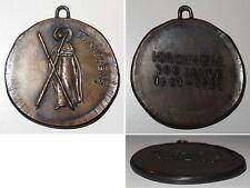 Medaille Kirchheim 300 Jahre 1681 - 1981 / St. Andreas / Messing ~100 gr schwer