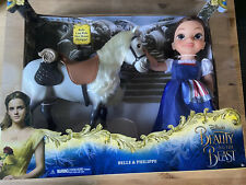 Disney Toddler Beauty And The Beast Belle Doll And Philippe Horse Jakks Pacific