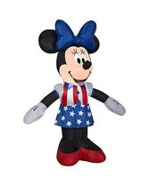 Patriotic 3.5' FT Patriotic Minnie Mouse Airblown Inflatable Lighted Yard Decor
