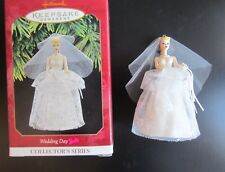 Hallmark 1st & 4th Series Beach & Wedding Day Barbie Ornaments