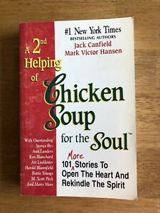 A 2nd Helping of Chicken Soup for the Soul by Canfield / Hansen 1995 Paperback