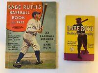 Vintage Babe Ruth Baseball Publications; Lot of 2