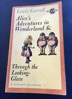 Lewis Carroll Alice's Adventures In Wonderland & Through The Looking Glass 1ST P