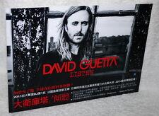 David Guetta Listen 2014 Taiwan Promo Display