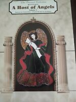 A Host of Angels Volume 1 Stained Glass Angel Patterns -  Flap Book