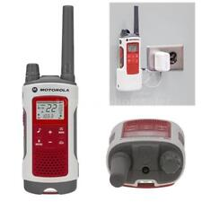 New Motorola Emergency Talkabout T480 Walkie Talkie Two Way Radio NOAA FMS/GMRS