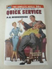 Ace Double  Paperback   D-25 Quick Service By P G  Wodehouse