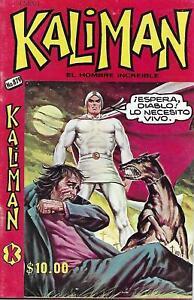 Kaliman El Hombre Increible #879 - Octubre 1, 1982 - Mexico