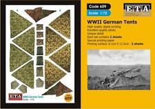 WW II German Zeltbahn Suit scale 1/72