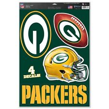 GREEN BAY PACKERS MACBOOK LAPTOP MULTI USE REMOVABLE REUSABLE DECALS NEW