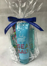 Baths and Body Works Fresh Sea Salt Mango Set Mist Shower Gel Body Cream