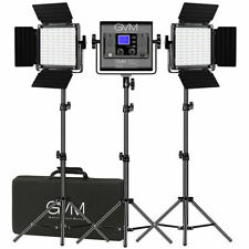 Gvm Rgb Led Photography Video Light Panel Kit 252 Beads Scenes Tripod Wireless