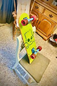 The Simpsons Santa Cruz Collectible Bart Simpson Skateboard