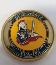 Vintage Us Navy Vfa-109 Hornet Gladiators Challenge Coin