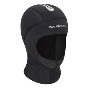 Neoprene Diving Hood Stretchy Swimming Hat Spearfishing Head Cover Dive Gear