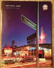 The Final Game-Tiger Stadium,Sept. 27,1999 Program (limited Edition)  # 24027