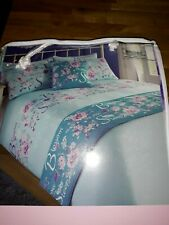 BLOSSOM BED IN A BAG – DOUBLE - LIGHT BLUE AND TEAL – BRAND NEW IN PACK