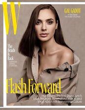 GAL GADOT NEW WONDER WOMAN SAMANTHA BEE DAVID LYNCH - W Magazine May 2017 @NEW@
