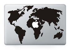 "World Map Vinyl Decal Sticker Skin for Apple MacBook Air/Pro Laptop 13'' 15''17"""