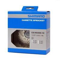Shimano Tiagra CS-HG500 10 Speed Mountain Road Bike Cassette 11-34T In Box