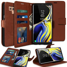 Slim Steady ID Window Card Flip wallet Holster Case for Galaxy/ iPhone/LG G7 V40