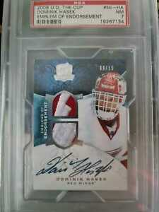 2008 the cup emblem of endorsement dominik hasek auto patch /15