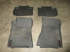 WeatherTech 4 Front & Rear Floor Mats For 12 2012 Cadillac CTS