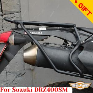 For Suzuki DRZ 400 SM rear rack rear luggage rack DRZ 400 S, Bonus