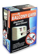 Bird-X Balcony Gard Electronic Ultrasonic Bird Pest Control Device Repeller