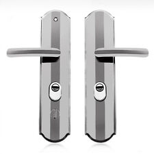Simple Popular Interior Security Door Handle Lock Lever Door Handles Panel Pair