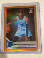 2019-20 PANINI OPTIC JA MORANT RATED ROOKIE ORANGE PRIZM /199