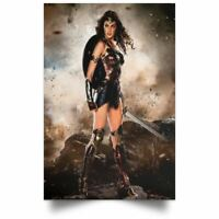 WONDER WOMAN Art Print SIGNED  By LUCIO PARRILLO Print LUCCA 2019