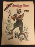 1971 Sporting News SAN FRANCISCO 49ers JOHN BRODIE No Label NFL PREVIEW EDITION