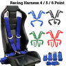 4/5/6 Point Seat Belt Racing Harness Quick Release Track Race Drift Car
