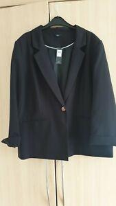 Ladies Size 18 Tuxedo Style Jacket BNWT