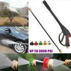 3000PSI High Pressure Power Car Washer Spray Nozzle Water Gun Wand Kits+5 Nozzle