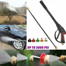 Hot 3000PSI High Pressure Power Car Washer Spray Nozzle Water Gun Kit Wand Lance