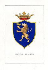 Araldica Stemma araldico della famiglia Servadio di Siena