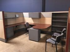 Used Office Cubicles, Haworth Premise Cubicles 8x12