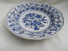 More details for original zwiebelmuster blue onion pasta soup bowl 24cm x 4.5cm.excellent.