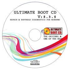 Ultimate Boot CD - ordinateur & portable récupération restauration Fix disque de Boot de réparation